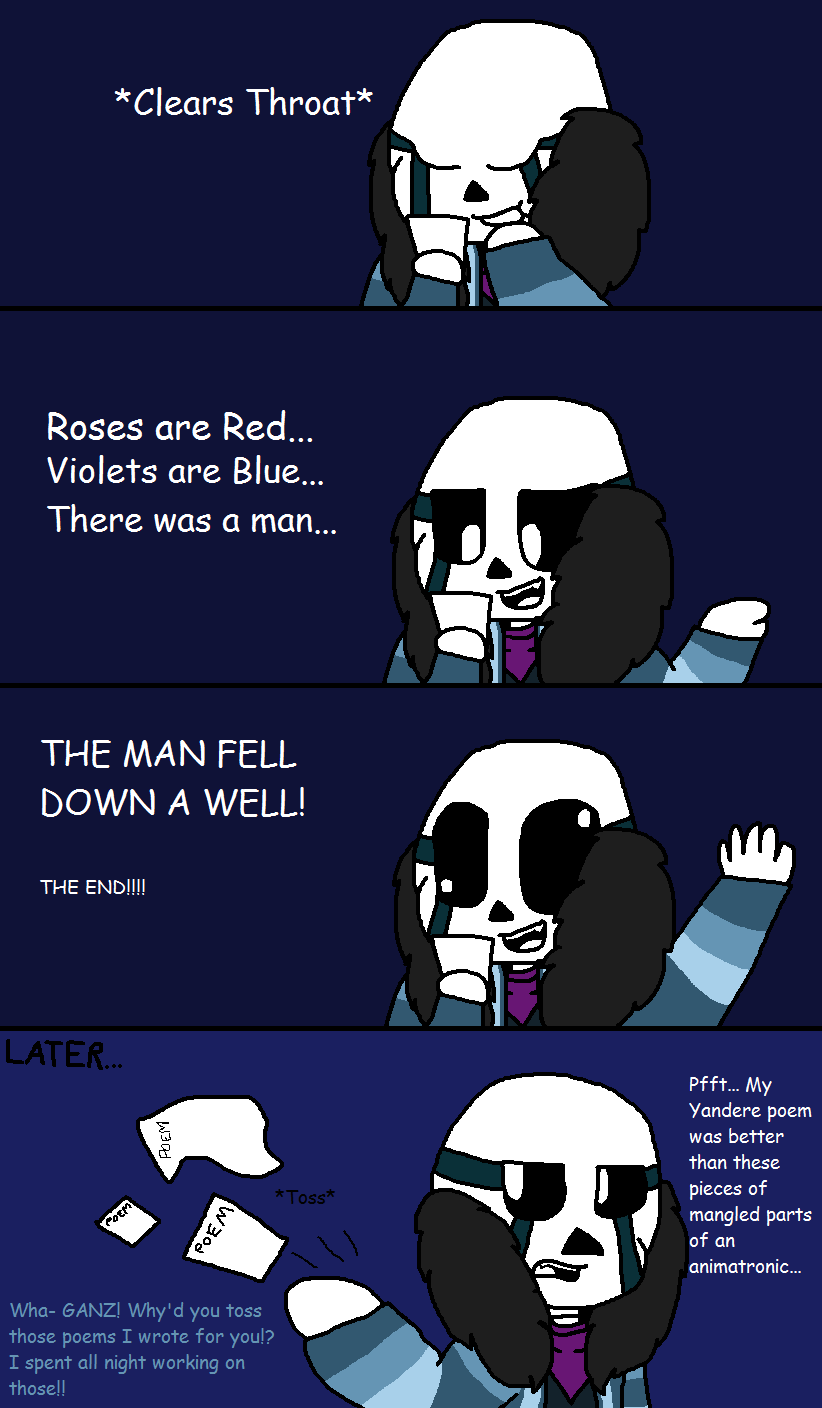 Poems {Amazing Comic #3} by cjc728