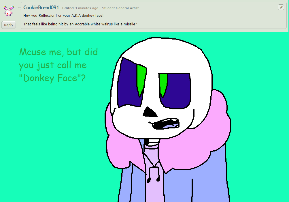 Ask ttoba Sans or Reflection #7 by cjc728