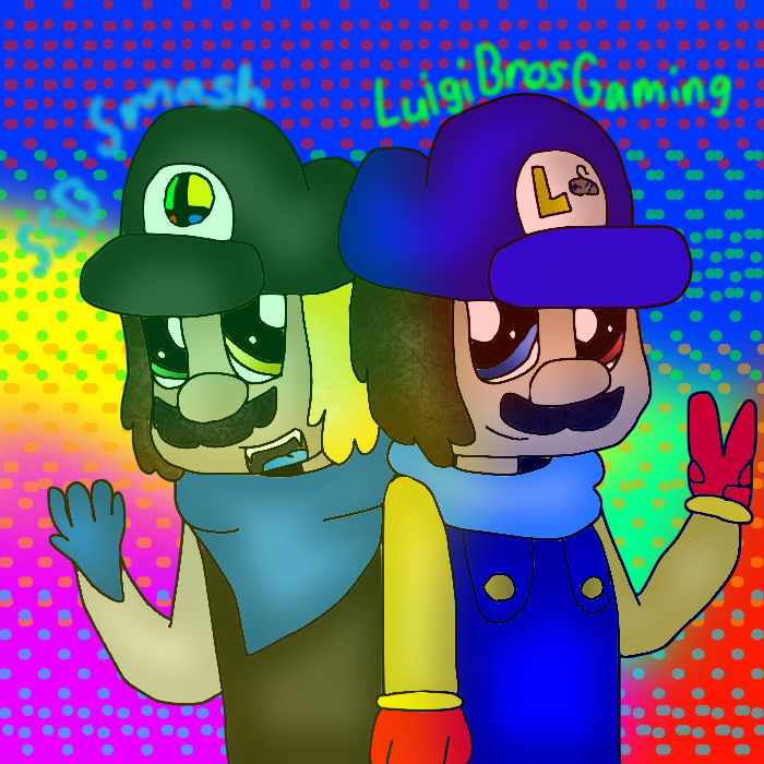 SSB Smash and LuigiBrosGaming by cjc728