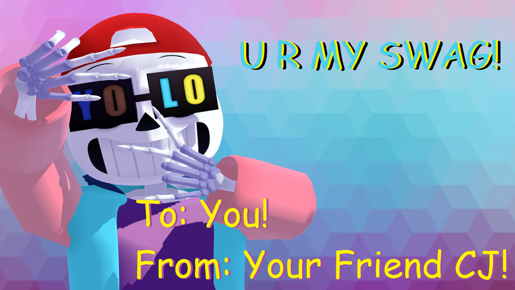 Valentines Day Card #7 (Crayon Swag) by cjc728