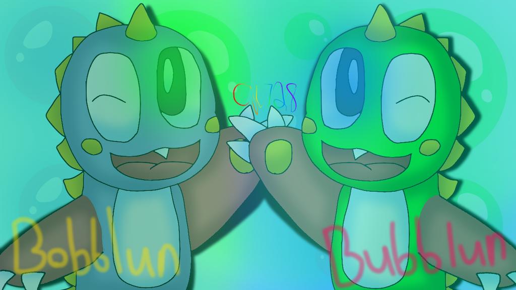Bubblun and Bobblun by cjc728