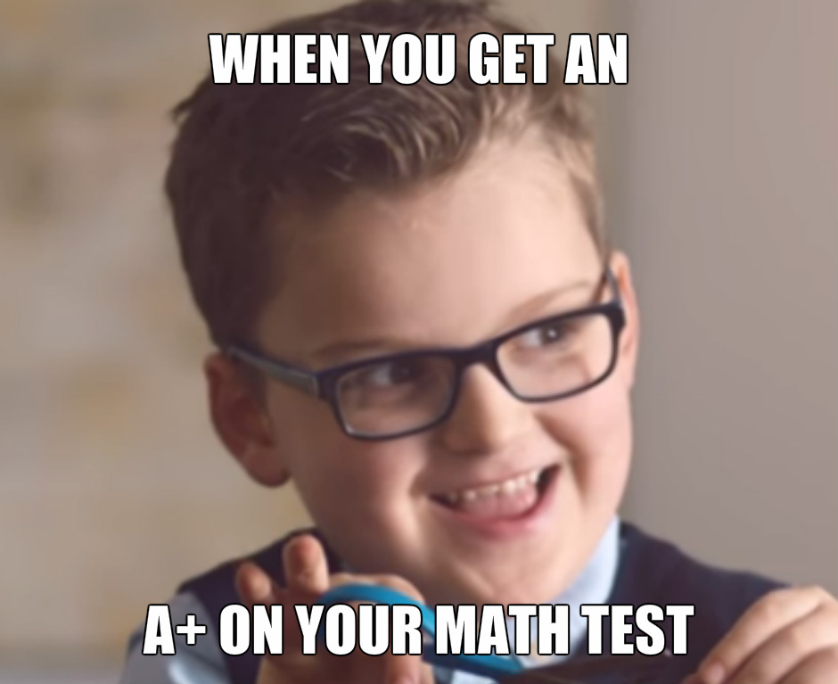 Math Test Meme by cjc728