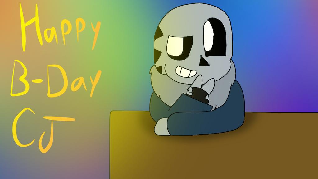 Happy B-Day CJ by cjc728