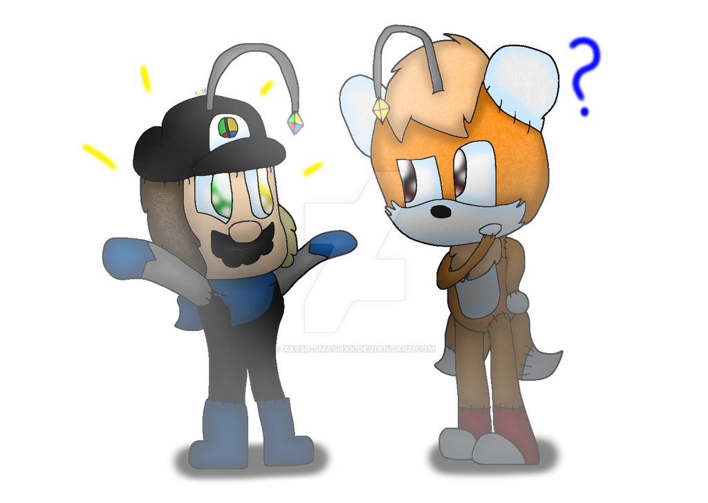 Smash Doll and Tails Doll by cjc728