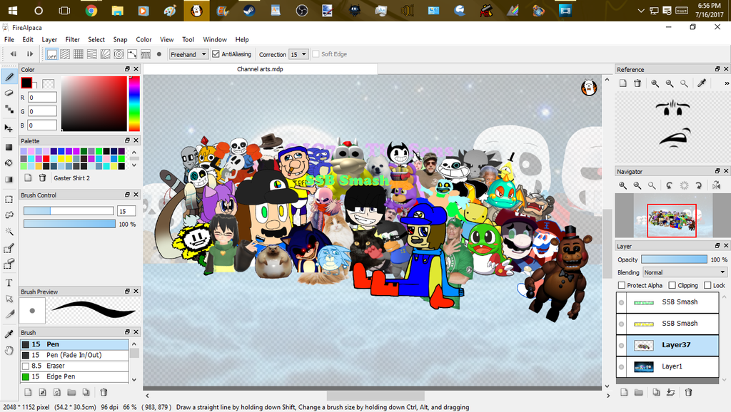 Changing my Channel Art! :3 by cjc728