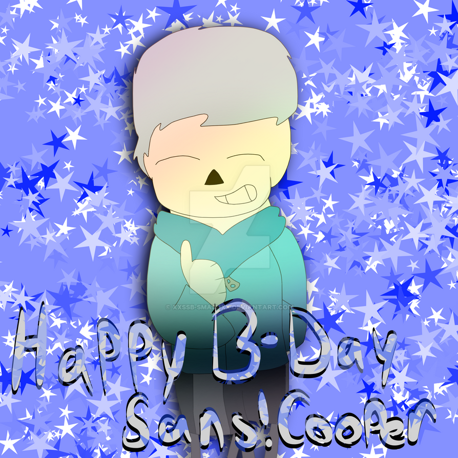 Happy B-Day Sans Cooper by cjc728