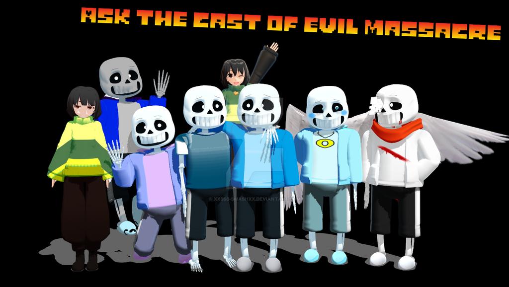 Ask The Cast of Evil Massacre [OPEN] by cjc728