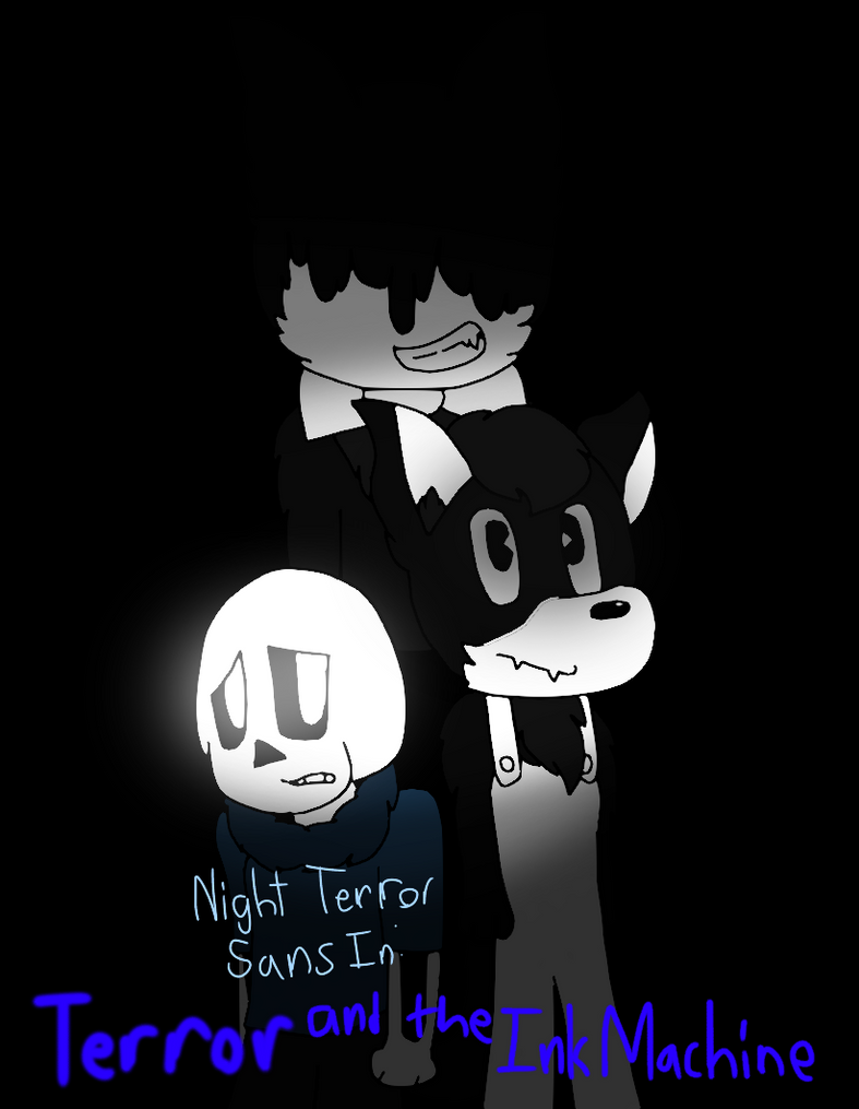 Terror and The Ink Machine Cover by cjc728
