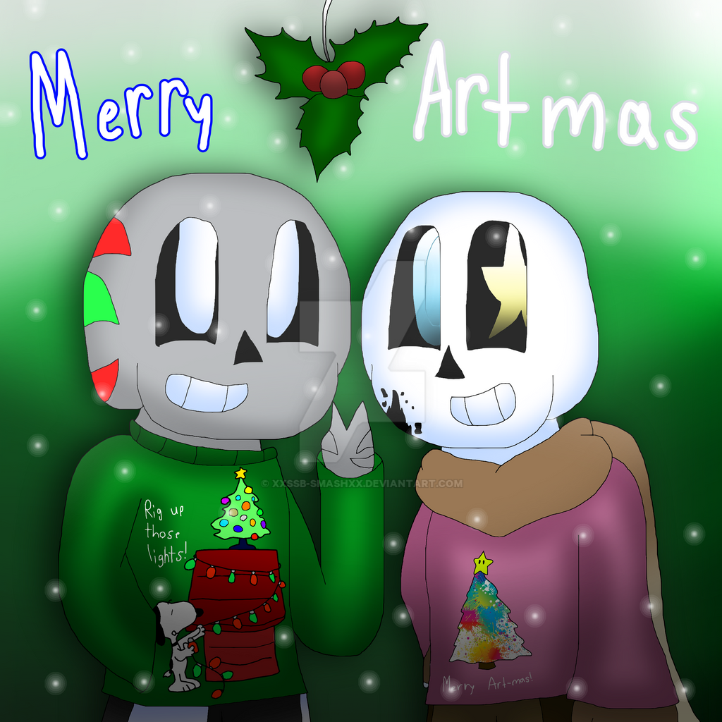 Merry ArtMas [+ SpeedPaint] by cjc728