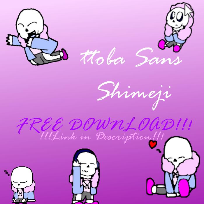 ttoba Sans Shimeji [DL Link] by cjc728