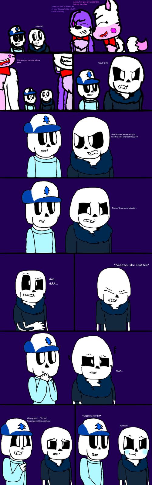 Kitten Sneeze [Amazing Comic #8] by cjc728