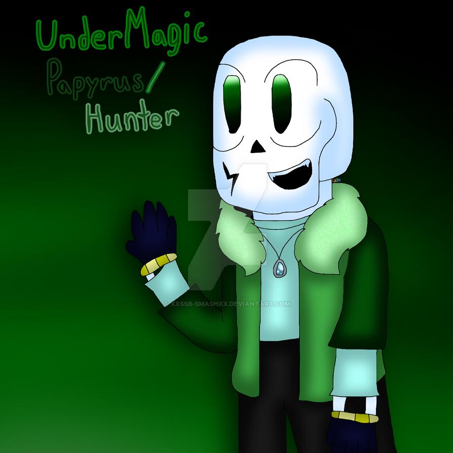 UnderMagic Papyrus (Hunter) by cjc728