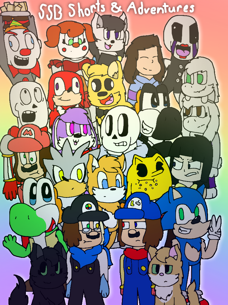 SSB Shorts and SSB Adventures Poster by cjc728