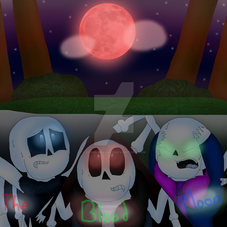 The Blood Moon [+ SpeedPaint] by cjc728