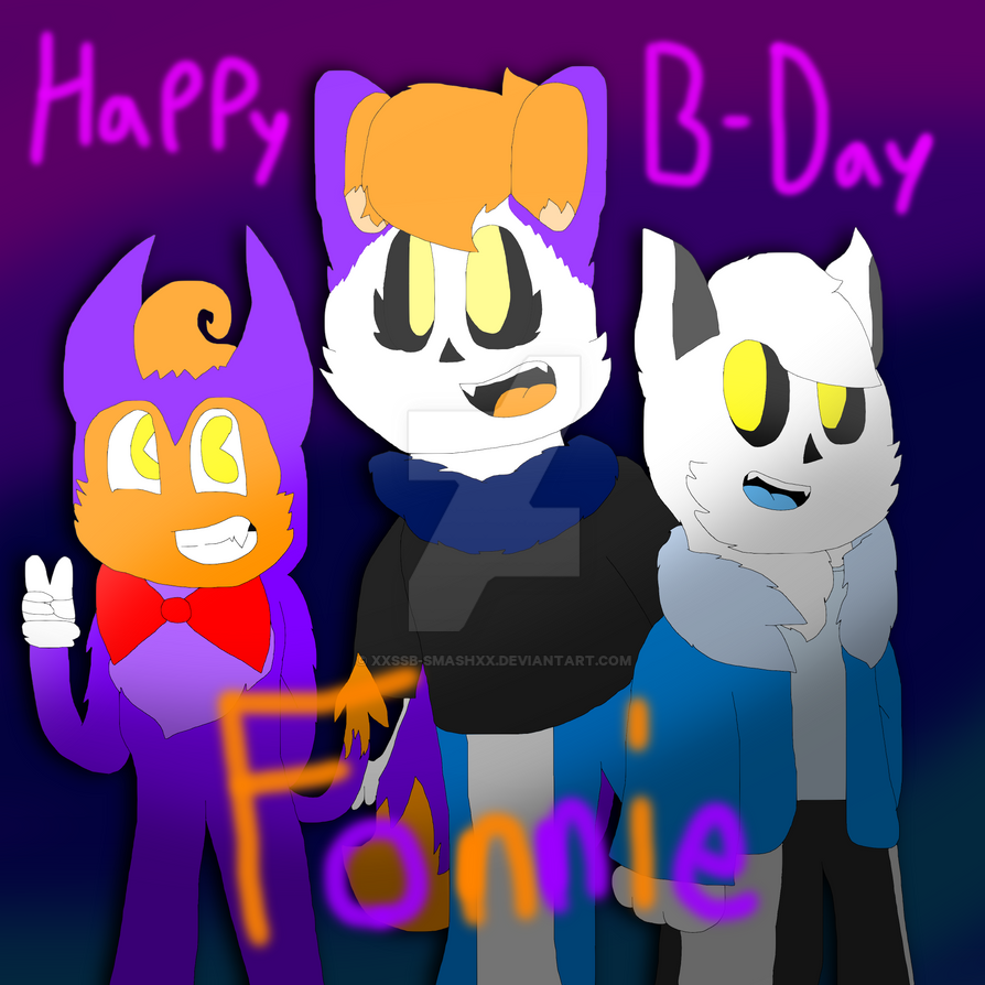 Happy Birthday Fonnie!!! :3 by cjc728