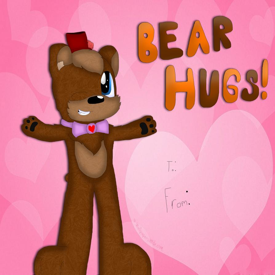 Freddy Fazbear Valentines Card by cjc728
