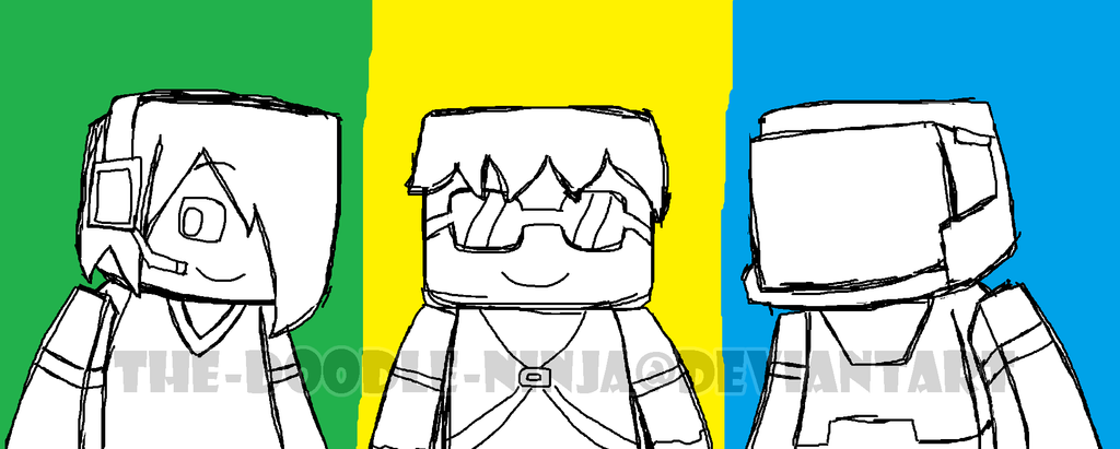 deadlox minecraft coloring pages - photo#27