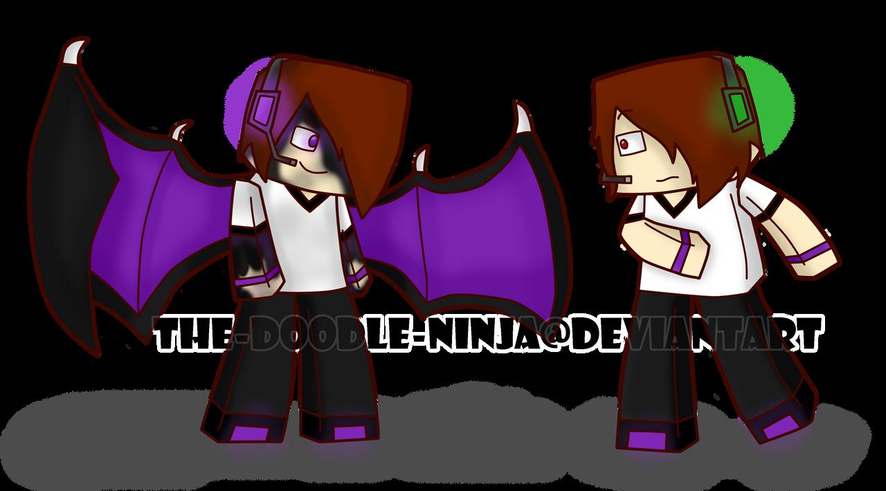 Deadlox Minecraft Skin Minecraft Deadlox and