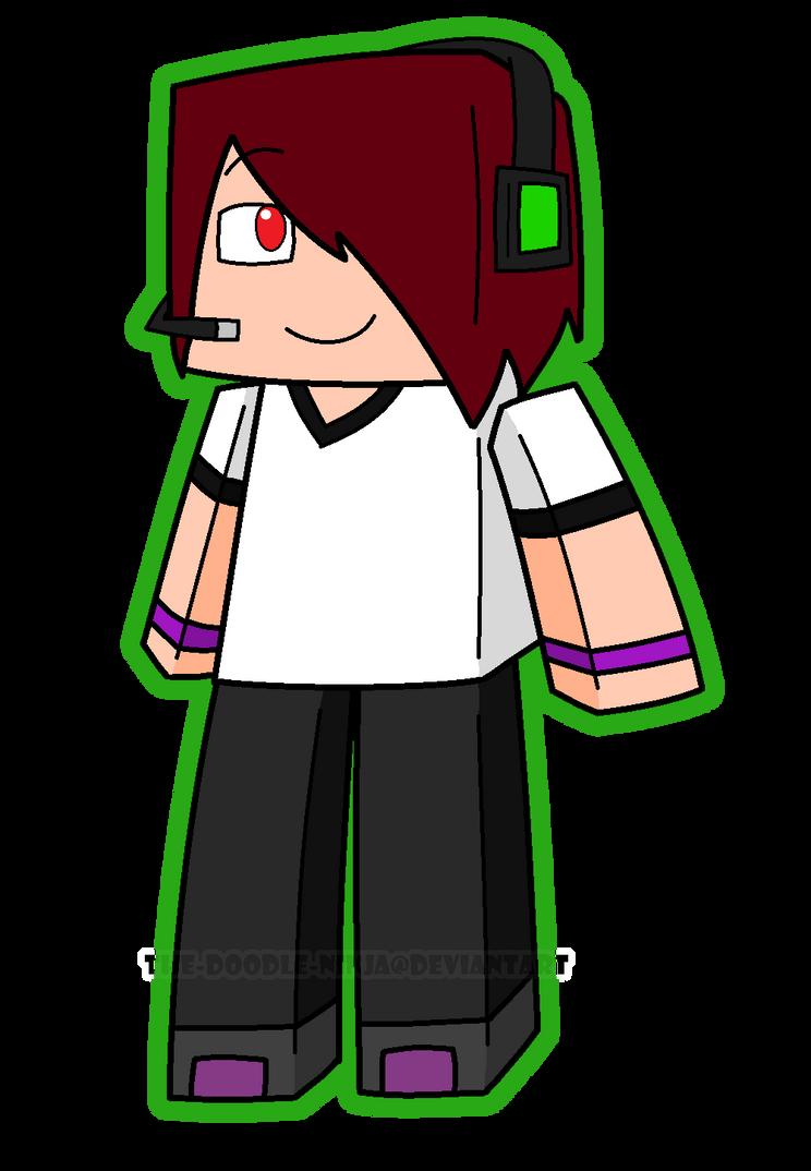 Deadlox Minecraft Skin Minecraft More Deadlox XD by
