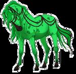 .green n grumpy.