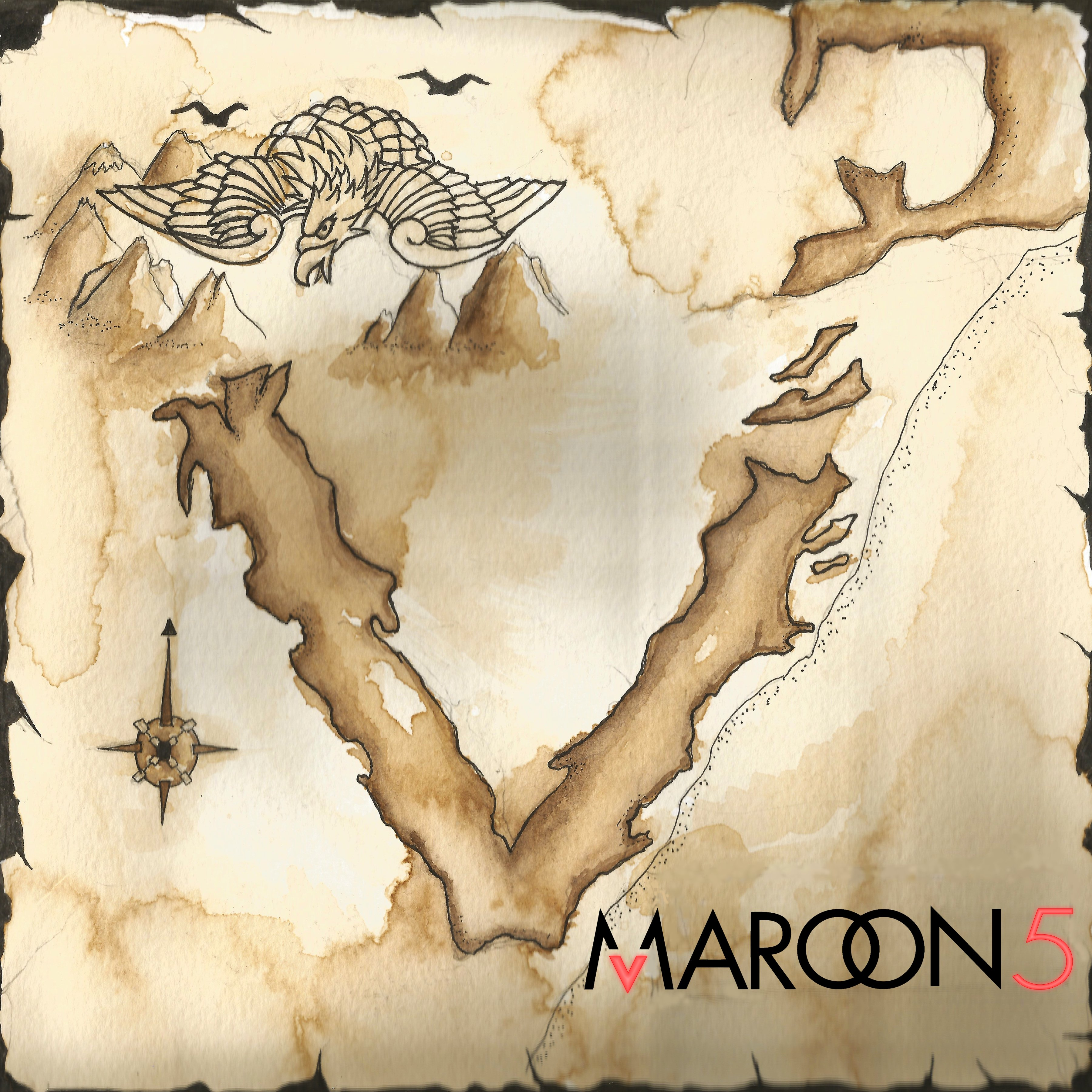 Maroon 5 album cover by hazelmead on DeviantArt