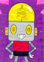 A fan art of Robot Jones by Rage-DSSViper-Sigma
