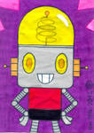 A fan art of Robot Jones