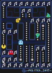 Rootin' Tootin' x Pac-Man by Rage-DSSViper-Sigma