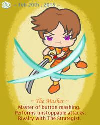The (Button) Masher - One Annoying Samurai by Rage-DSSViper-Sigma