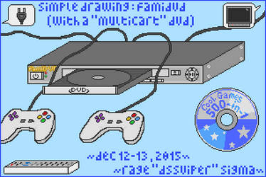 FamiDVDClone - A DVD Player Blended with Famiclone by Rage-DSSViper-Sigma