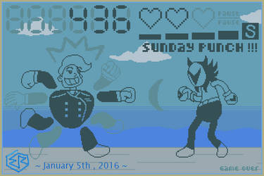 LCD Game or POP Station Mockup - Sergeant Sunday by Rage-DSSViper-Sigma