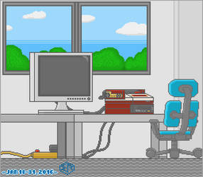 Tribute to Game Center CX... Room. by Rage-DSSViper-Sigma