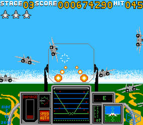 Strike Fighter in NES Style