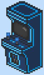 RS' Blue Arcade Cabinet by Rage-DSSViper-Sigma