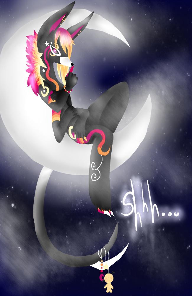 .:Hush Hush:. by KitsuneFlame78