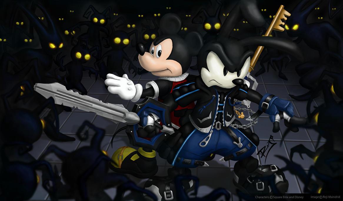 Keyblade Masters by nuckerbar