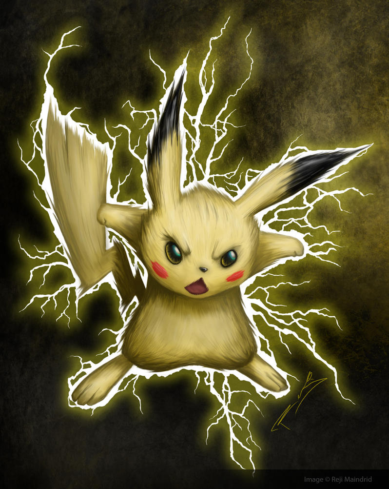 Pikachu by nuckerbar