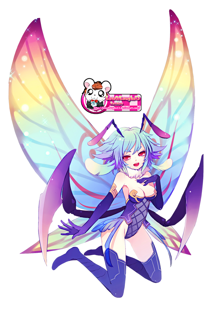 Butterfly Girl Render by LotsOfLaughs13