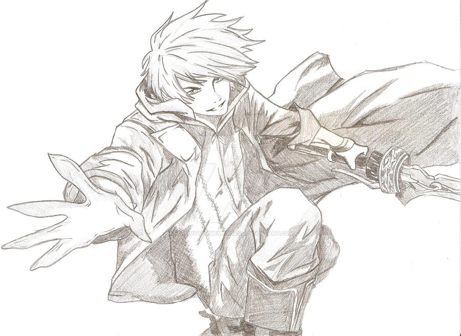 Nero Sketch Nero DMC4 - Sketch by ...
