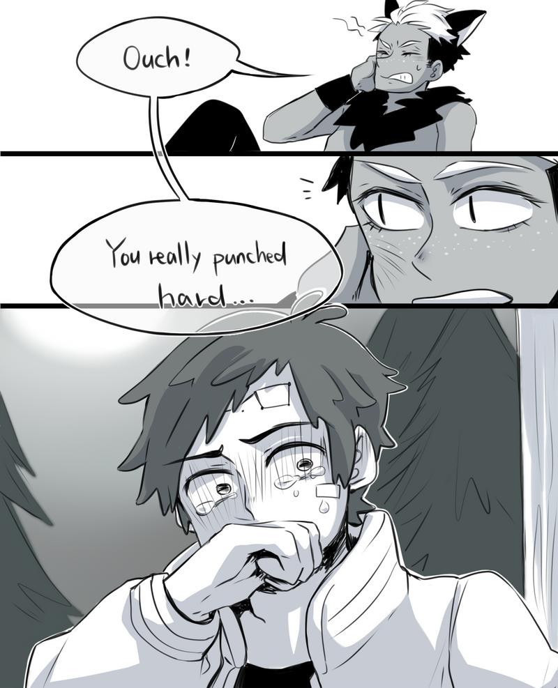 BillDip Comic -Trick Or Treat Or Kiss? By Buryooooo On