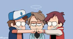 Annoying brothers by Buryooooo