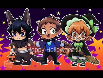 Happy Halloween by Buryooooo