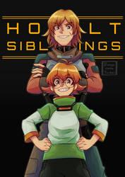Holt siblings by Buryooooo