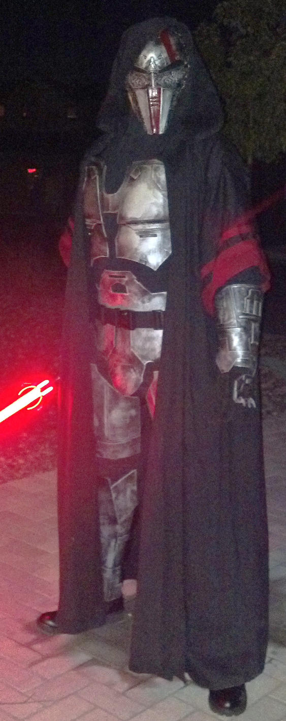 how to make a sith acolyte costume