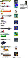 Sprite Weapons From Scratch So Far *update again*