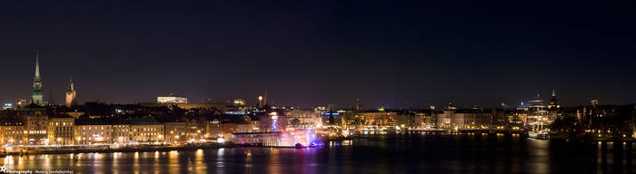 Stockholm by Night by MiddleStar