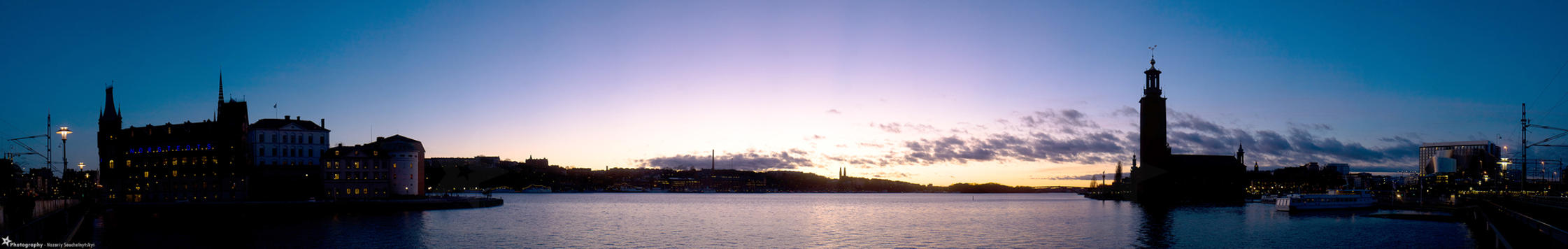 Stockholm Sunset by MiddleStar