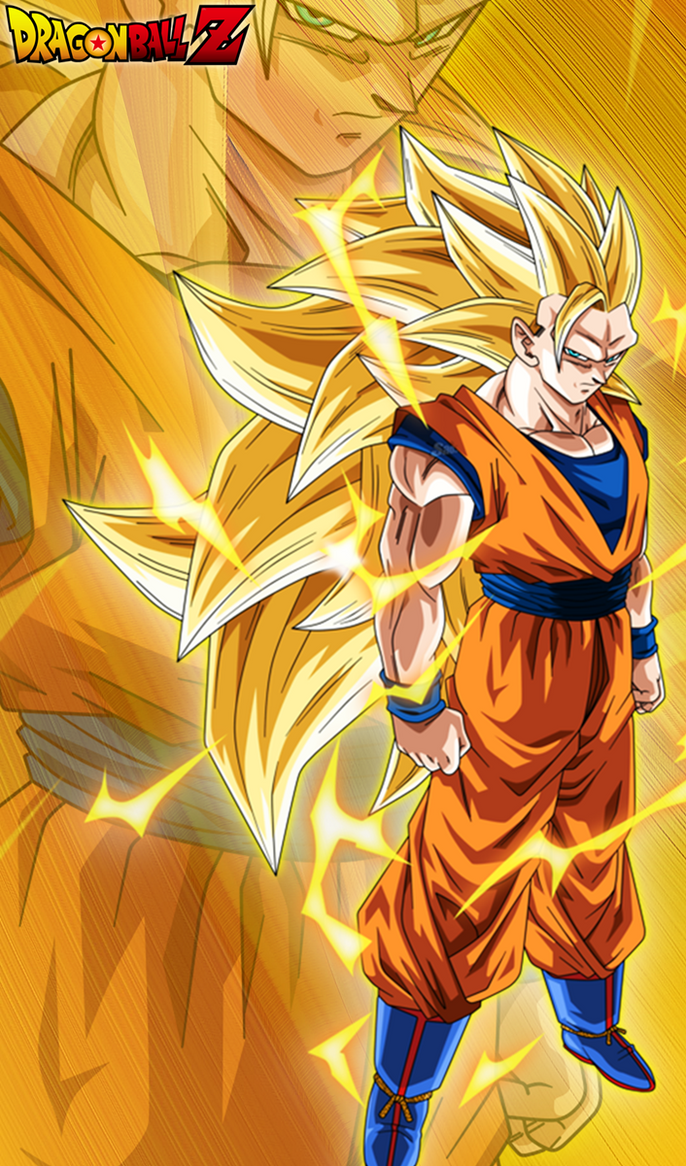 son goku super saiyan 3 by ifan95 on deviantart