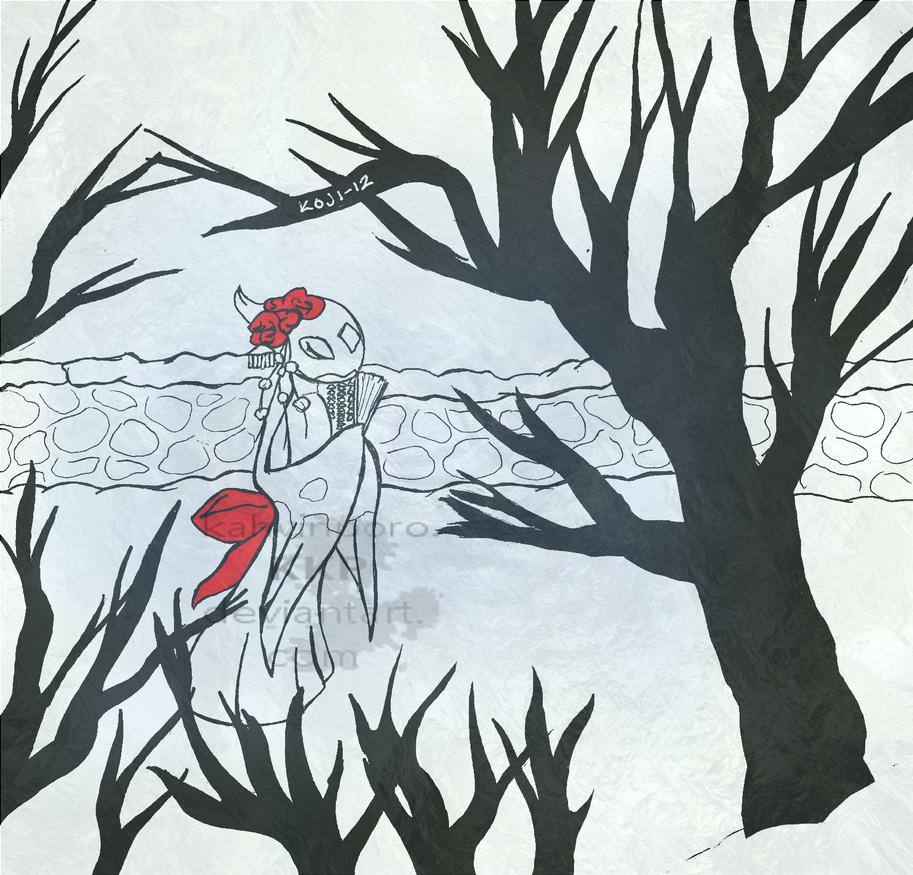 Fair maiden of ice by Kahvinporo
