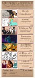 Commissions OPEN by Kahvinporo